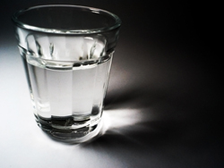 Glass of water - Santa Clarita Water Emergency